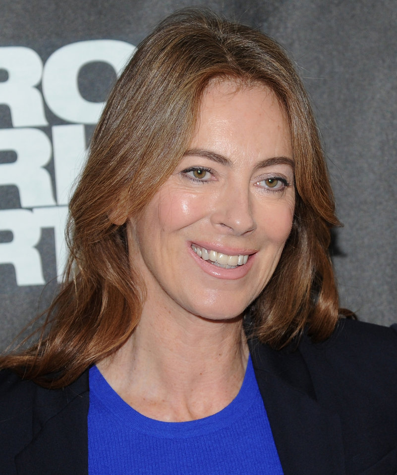 Photo - FILE - In this Tuesday, Dec. 4, 2012 file photo, director Kathryn Bigelow participates in a
