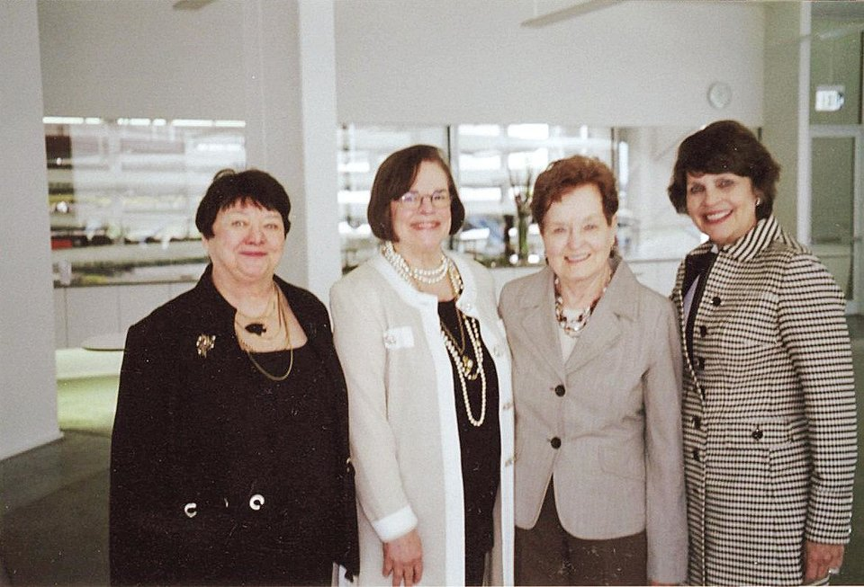 Photo - Teri Beals, Joyce Stewart, Barbara Kerrick, Linda Barnett. PHOTO PROVIDED