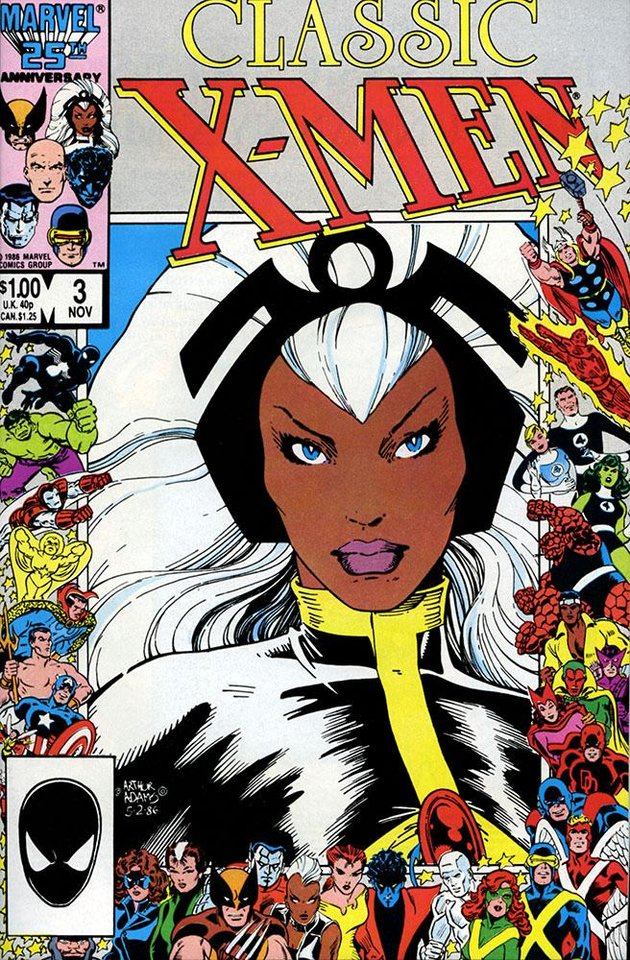 Photo - Storm has led the X-Men and been a popular Marvel Comics character since her introduction. [Marvel Comics]