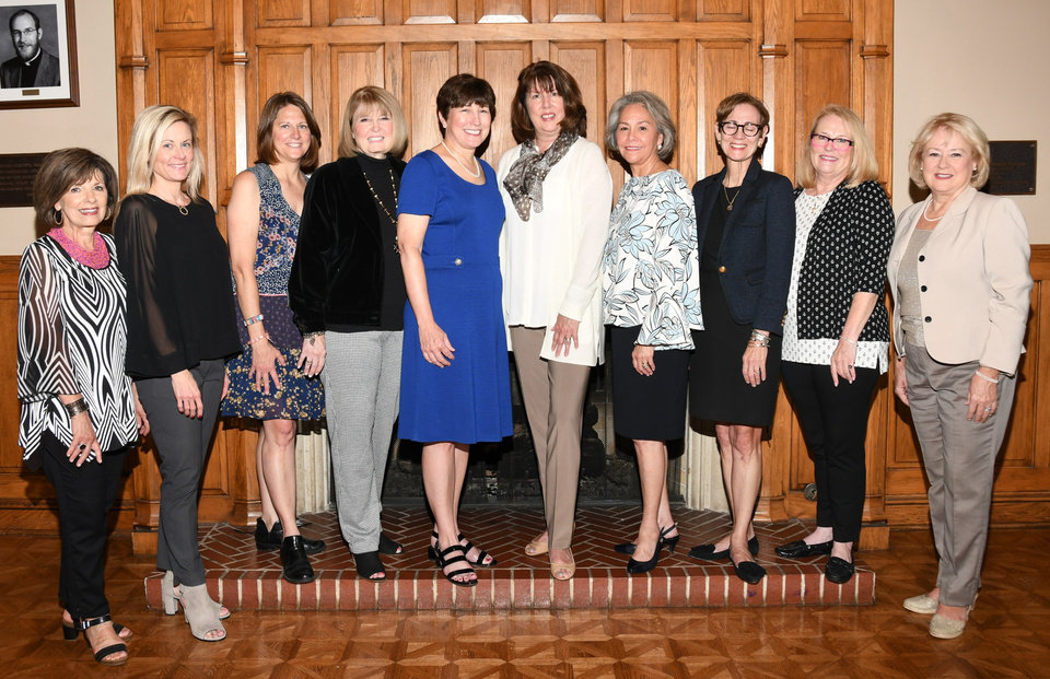 Photo - Sharon Bumgardner, Ashley Duncan, Amy Sergent, Cherry Kay Clifford, Louise Valuck, Alice Pippin, Diana Harden, Wendy Huff, Emily Remmert, Ann Simank. PHOTO BY FRAN KOZAKOWSKI