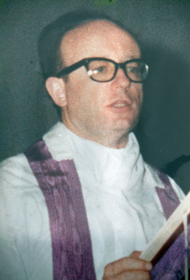 Photo - This undated photo released by the San Patricio church, shows Father Alfredo Kelly in Buenos Aires, Argentina. In what became known as the San Patricio Massacre, gunmen believed to be from a military unit stormed into the church after midnight on July 4, 1976, and shot to death three priests including Kelly and two seminarians - the bloodiest single act of violence against the Roman Catholic Church during Argentina's brutal dictatorship. Now Catholic officials in Argentina are working to have them declared saints. And the man who promoted their cause as archbishop has become Pope Francis. (AP Photo/San Patricio Church)