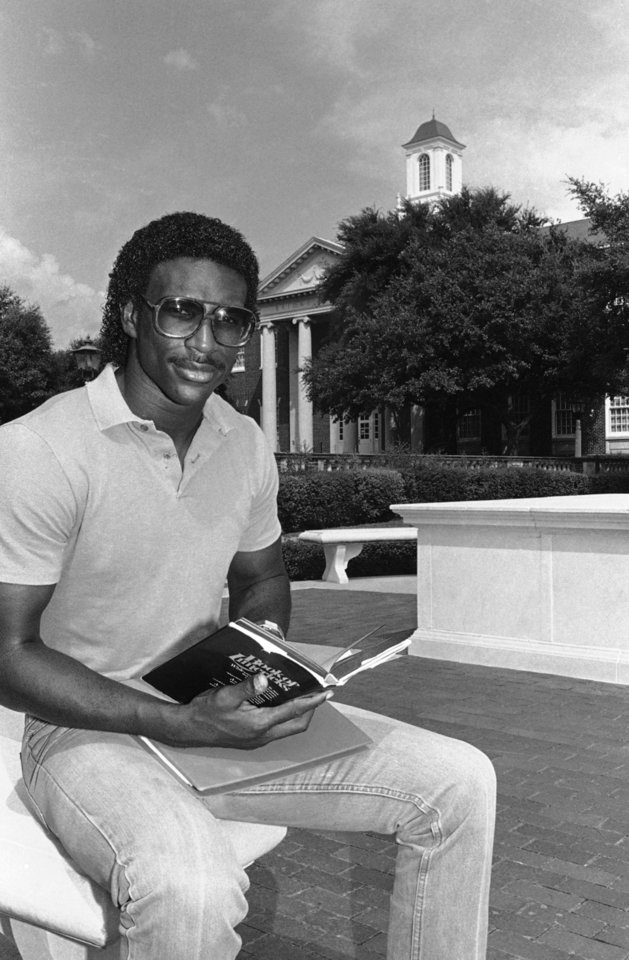 "ESPN's latest ""30 for 30"" documentary focuses on the Southern Methodist football program in the 1980s. Player like Eric Dickerson reportedly received numerous illegal benefits during their time at SMU during that time. AP PHOTO"