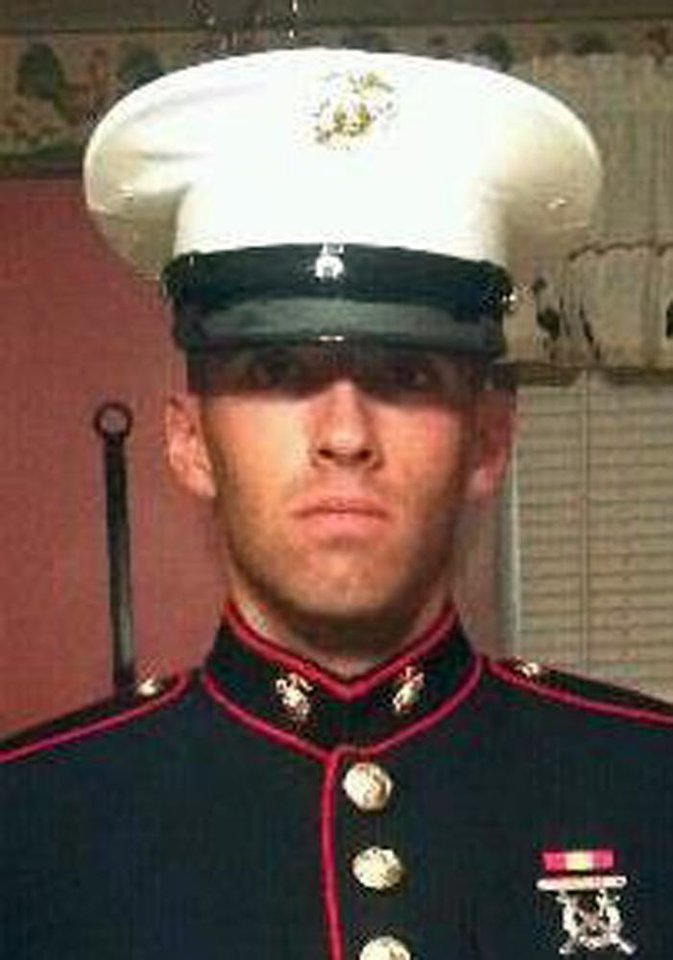 Photo - This undated photo provided by the U.S. Marines shows Pfc. Joshua M. Martino of Clearfield, Pa. Martino, 19, was killed with six other Marines in an explosion during a Nevada training exercise on Monday, March 18, 2013. (AP Photo/U.S. Marines)