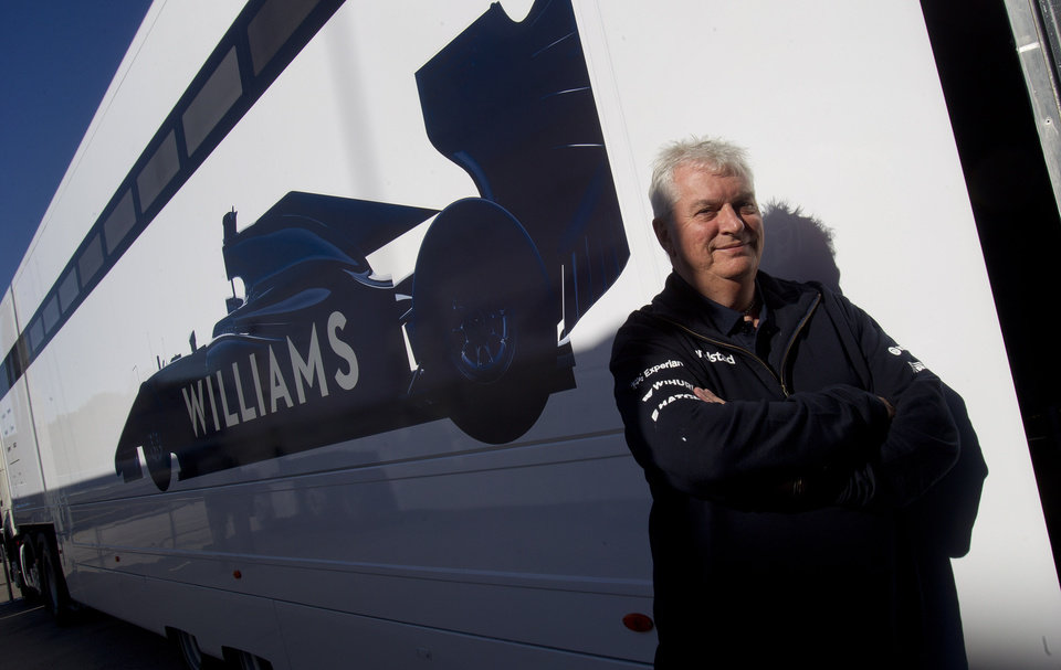 Photo - Pat Symonds, chief technical officer for Williams poses for a picture during the 2014 Formula One Testing at the Circuito de Jerez on Thursday, Jan. 30, 2014, in Jerez de la Frontera, Spain. Formula One's sweeping rule changes may be behind defending champion Red Bull's dismal start to the preseason, but the more modest teams on the circuit don't see the makings of a major power shift. Williams' chief technical officer, Pat Symonds, said the best way to encourage parity was not through change, but rather by creating