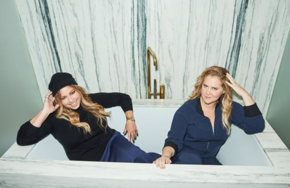 Photo - Stylist Leesa Evans and comedian and actress Amy Schumer have launched Le Cloud, a fashion collection for women.