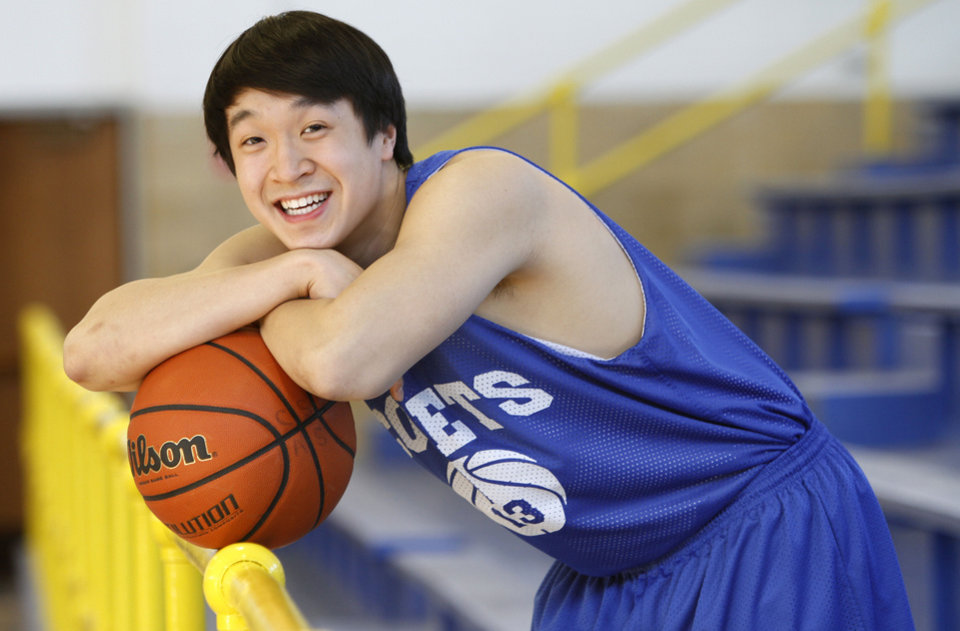 Photo - Classen School of Advanced Studies' Oliver Ting during practice in Oklahoma City, Wednesday, February  15,  2012. Photo By Steve Gooch, The Oklahoman  Steve Gooch - The Oklahoman