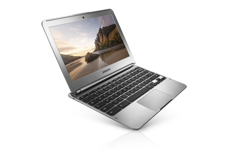 The Samsung Chromebook from Google is billed as a laptop for all levels of computer expertise. PHOTO PROVIDED. <strong></strong>