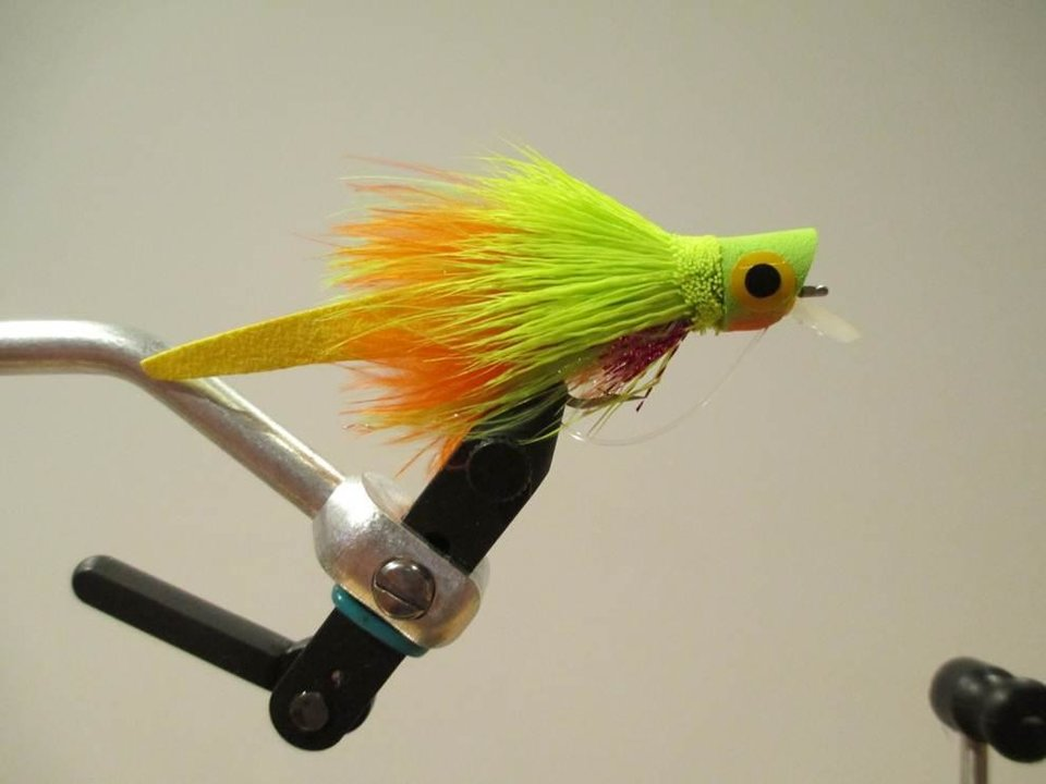 Photo -  The Femme Fatale is a good fly to use for bass fishing. Photo provided    -