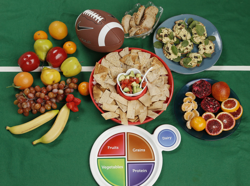 Photo - Your Super Bowl spread will benefit by taking a balanced approach.  DOUG HOKE - THE OKLAHOMAN