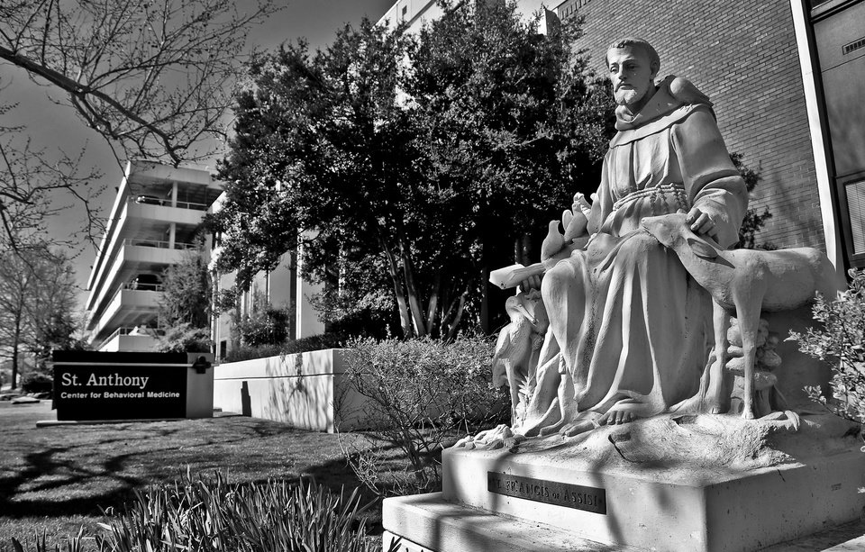 Photo - St. Anthony is one of the largest private mental health providers in Oklahoma. The behavioral medicine unit at St. Anthony Hospital in Oklahoma City is part of that.  CHRIS LANDSBERGER - CHRIS LANDSBERGER