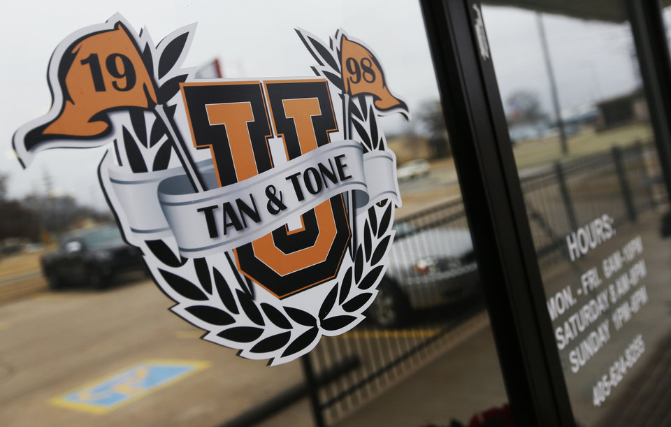 Photo - Since severing ties with Tan & Tone America, Stillwater's Tan & Tone Unlimited is better able to cater to its college-aged customers.  NATE BILLINGS - THE OKLAHOMAN