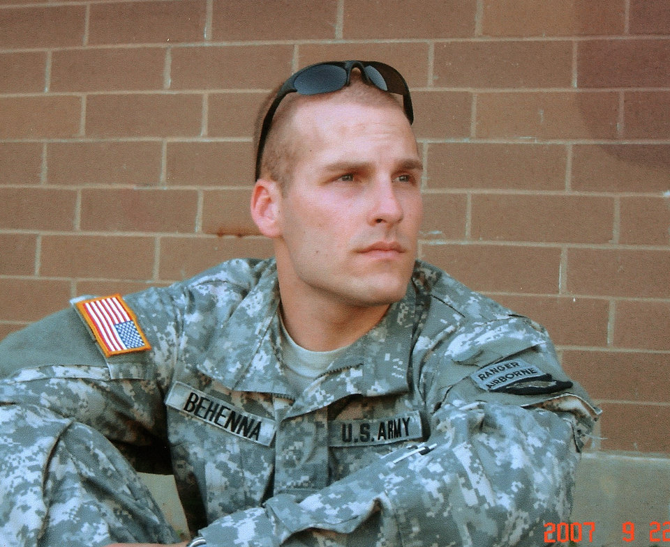 Photo - 1st. Sgt. Michael Behenna   (provided by family) ORG XMIT: kod