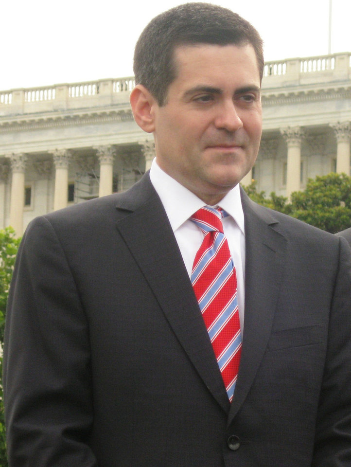 Russell Moore, president of the Southern Baptist Convention's Ethics and Religious Liberty Commission, prepares to speak at Capitol Hill news conference last week on immigration reform. <strong>Chris Casteel - The Oklahoman</strong>