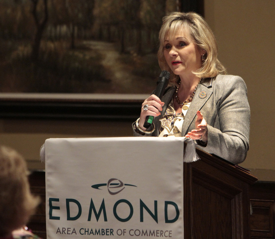 Gov. Mary Fallin backs the construction of a new state medical examiner�s office in Edmond.