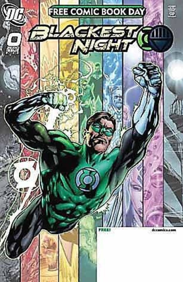 "Photo - The comic book ""Blackest Night."""