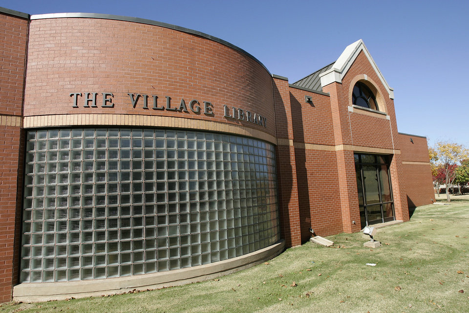 Some larger, full-service libraries of the Metropolitan Library System, including the Village Library, are now open Sundays from 1 to 6 p.m. PHOTO BY STEVE GOOCH, THE OKLAHOMAN ARCHIVES