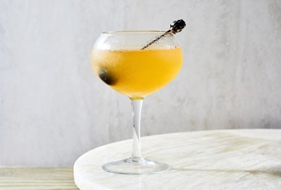 Photo -  Hotel Nacional cocktail. [Stacy Zarin Goldberg/The Washington Post]