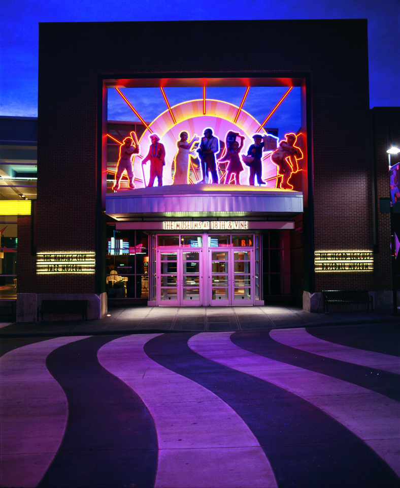 Photo - The American Jazz Museum shares space with the Negro Baseball Leagues Museum in Kansas City.   - PROVIDED