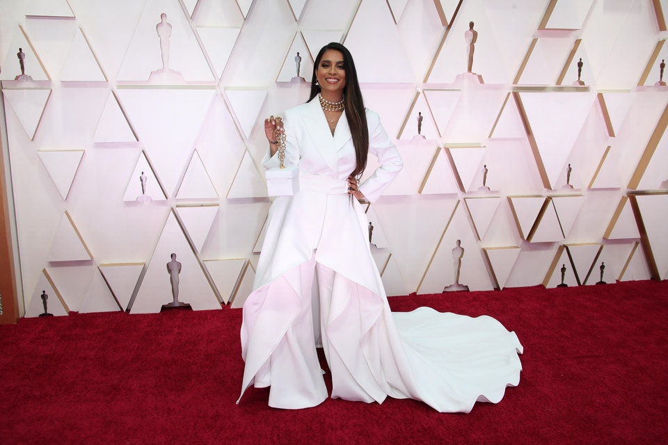 Photo - Feb 9, 2020; Los Angeles, CA, USA;  Lilly Singh arrives at the 92nd Academy Awards at Dolby Theatre. Mandatory Credit: Dan MacMedan-USA TODAY