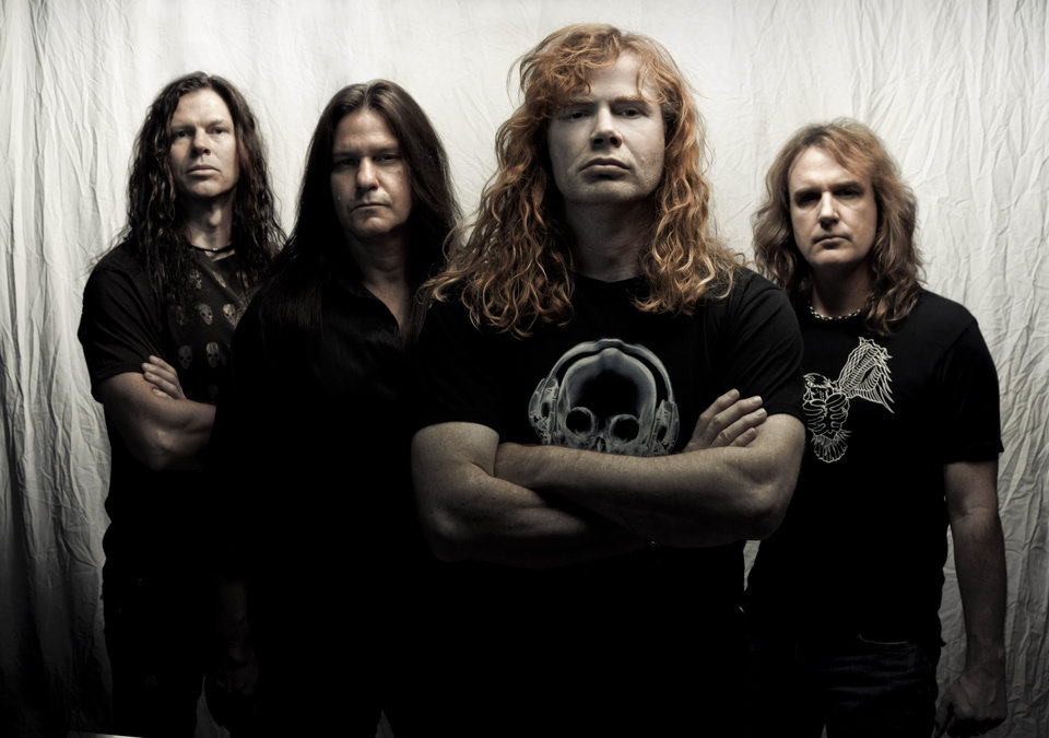 Megadeth PHOTO PROVIDED <strong></strong>