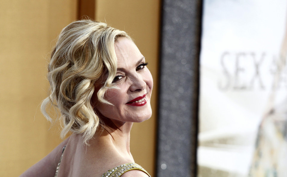 "Actress Kim Cattrall attends the premiere of ""Sex And The City 2"" at Radio City Music Hall in New York on Monday, May 24, 2010. (AP Photo/Peter Kramer) ORG XMIT: NYPK132"