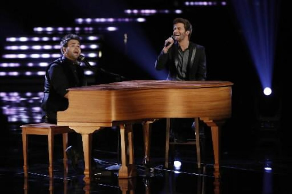"The Swon Brothers on ""The Voice"""