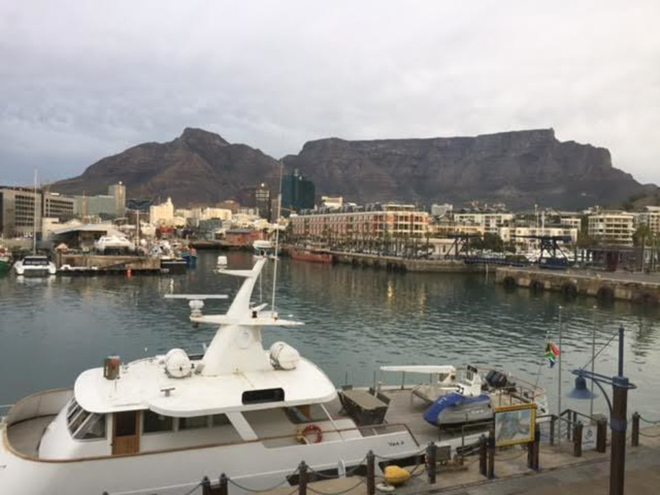 Photo - The Victoria and Alfred Waterfront. A great place to stay, eat or kill time in Cape Town.