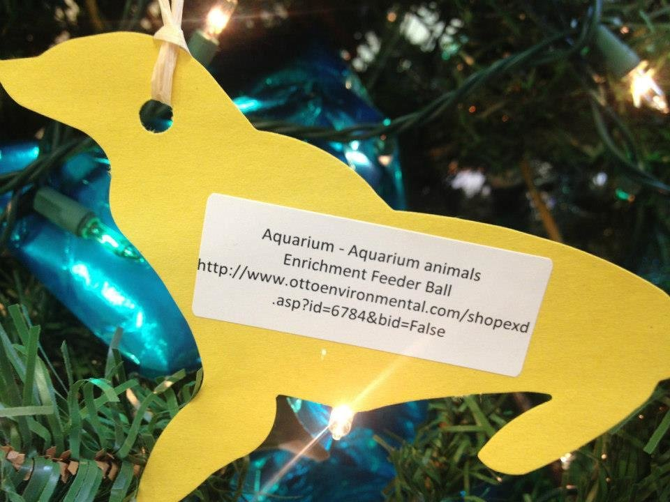 Ornaments like this can be picked out from the Wild Wish List tree at the Oklahoma City Zoo or by visiting amazon.com. Items donated by the public are used for enrichment of the animals. Photo PROVIDED