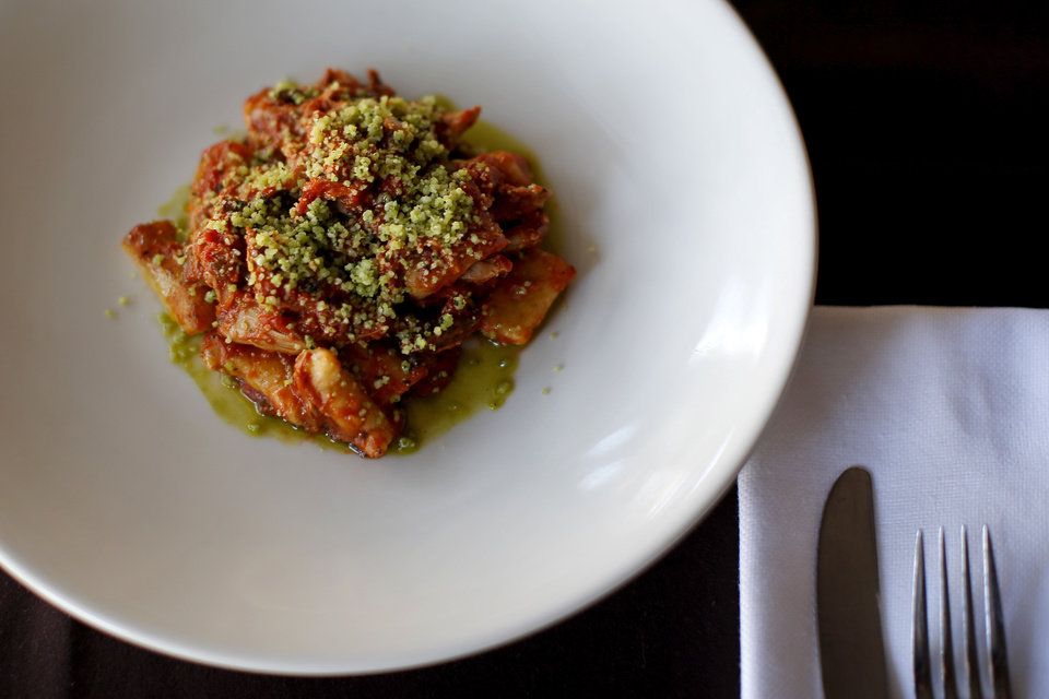 Photo -  Gnocchi with duck ragout is a menu item at Patrono in Oklahoma City. [Photo by Bryan Terry, The Oklahoman]