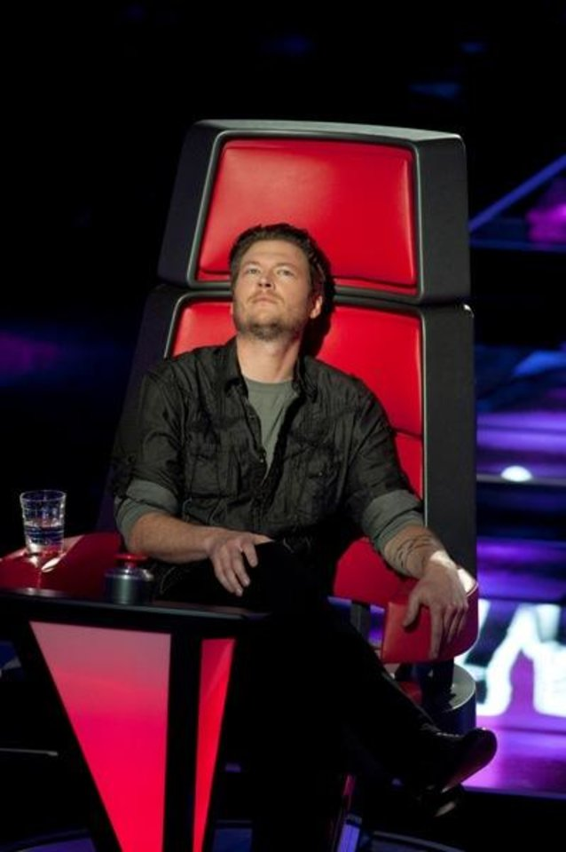 Photo -  THE VOICE -- Episode 101 -- Pictured: Blake Shelton -- Photo by: Lewis Jacobs/NBC