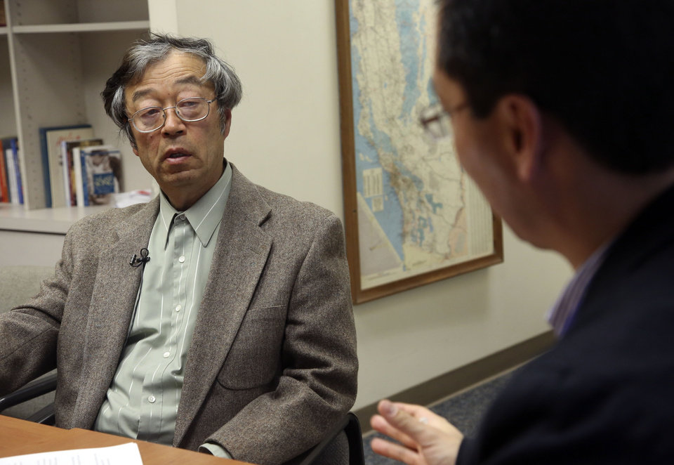 Photo - Dorian S. Nakamoto listens during an interview with the Associated Press, Thursday, March 6, 2014 in Los Angeles. Nakamoto, the man that Newsweek claims is the founder of Bitcoin, denies he had anything to do with it and says he had never even heard of the digital currency until his son told him he had been contacted by a reporter three weeks ago. (AP Photo/Nick Ut)