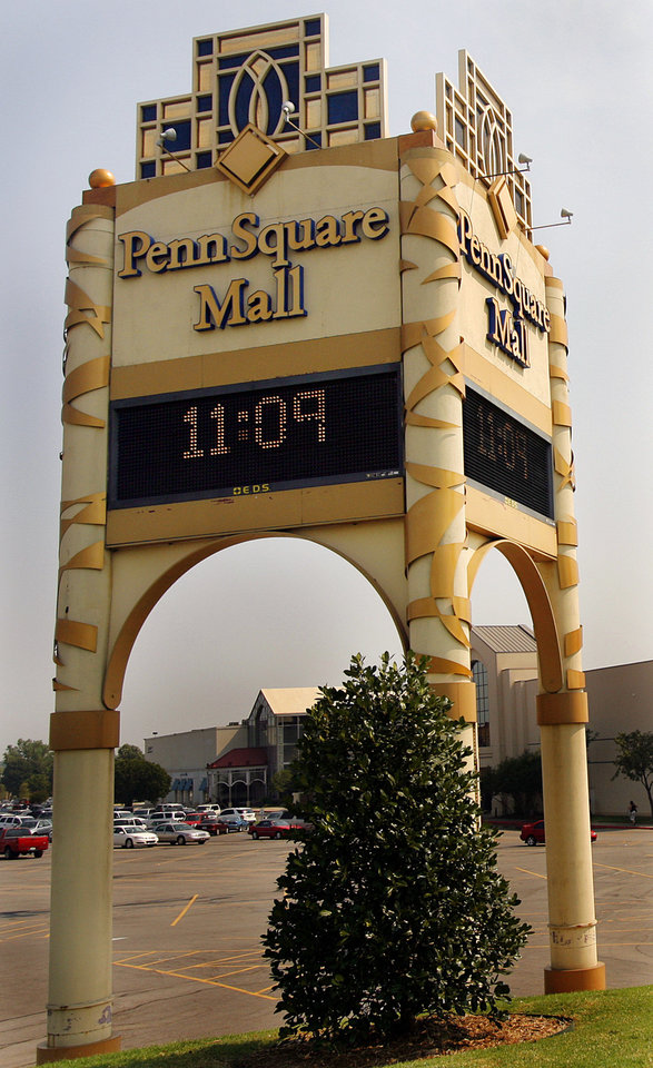Photo - Penn Square Mall in pictured Thursday at 1901 Northwest Expressway in Oklahoma City. Photo by Chris Landsberger, The Oklahoman  CHRIS LANDSBERGER
