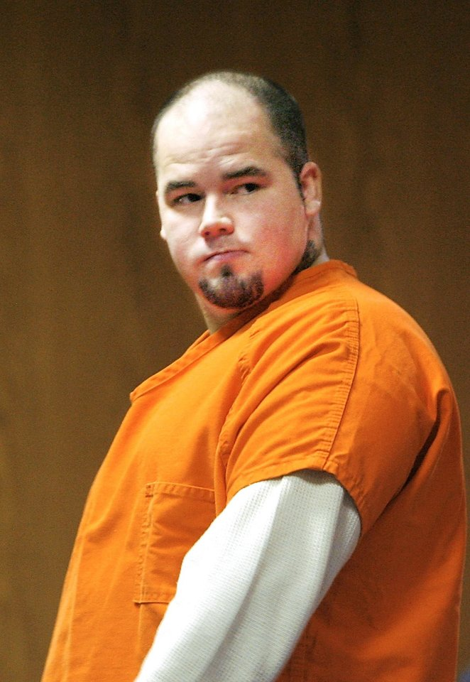 Photo - Joshua Steven Durcho appeared Tuesday before a Canadian County judge to learn his trial date in the killings of an El Reno mother and her children. PHOTO BY JIM BECKEL, THE OKLAHOMAN
