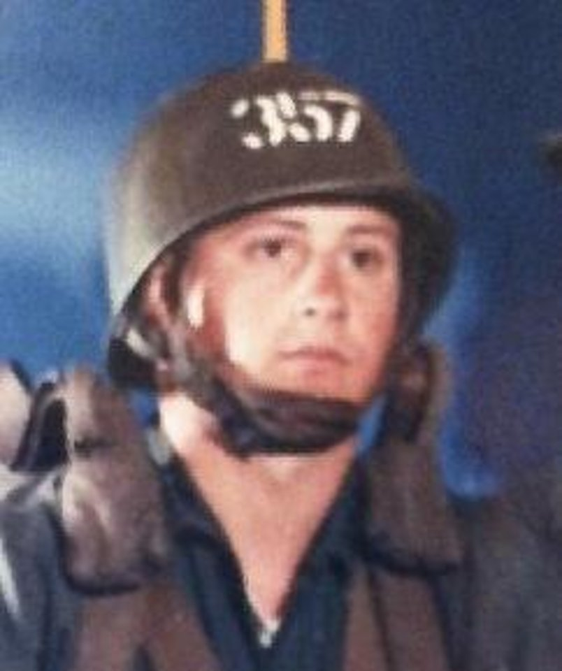 Photo - Marcus Whitt II, a Vietnam veteran, while at airborne school in 1968. Photo provided