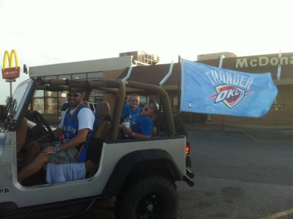 Did somebody say Thunder Up?