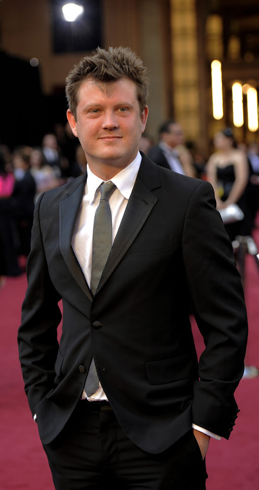 Beau Willimon arrives before the 84th Academy Awards on Sunday, Feb. 26, 2012, in the Hollywood section of Los Angeles. (AP Photo/Chris Pizzello) ORG XMIT: OSC120