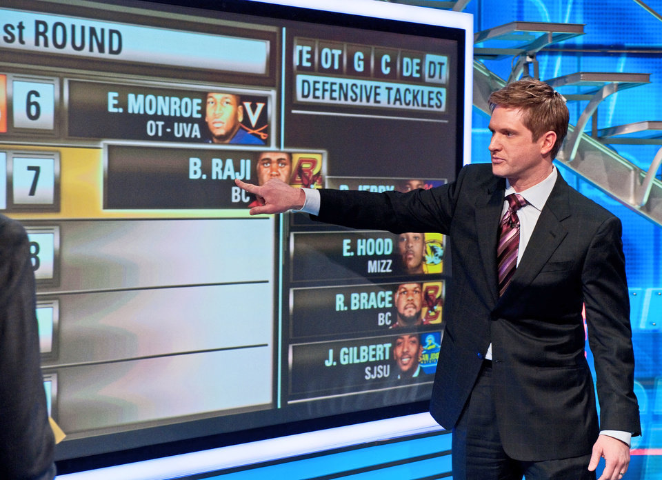 Photo - Todd McShay will be part of ESPN's NFL Draft  coverage. PHOTO PROVIDED