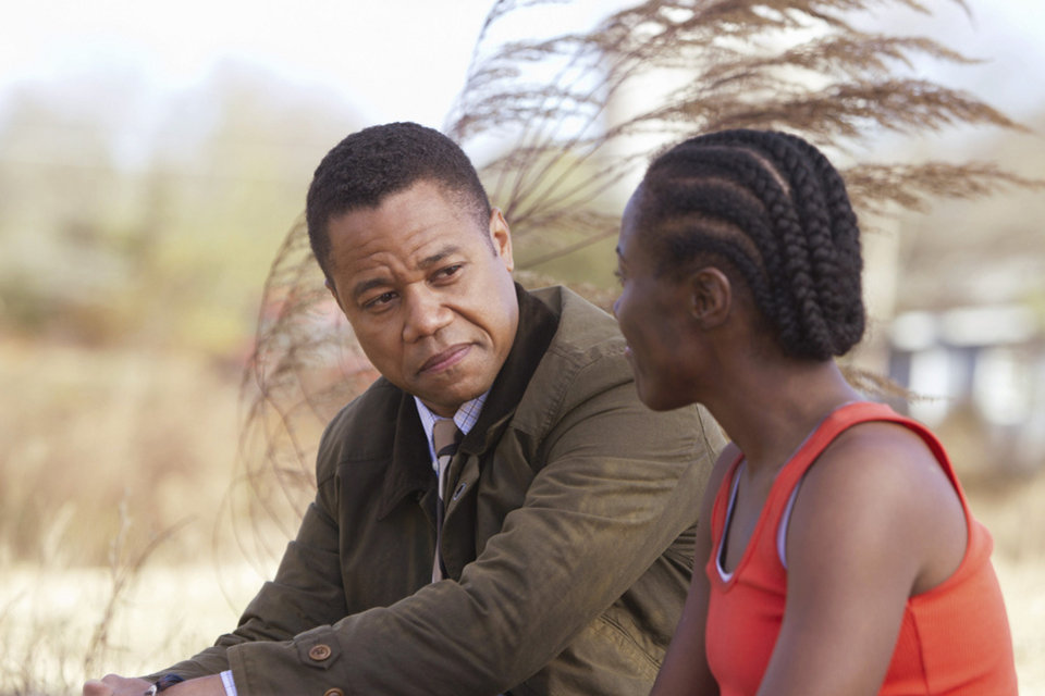 """Photo - Cuba Gooding Jr. and DeWanda Wise star in a new Hallmark Hall of Fame film, """"Firelight,"""" premiering at 8 p.m. Sunday. ABC photo"""