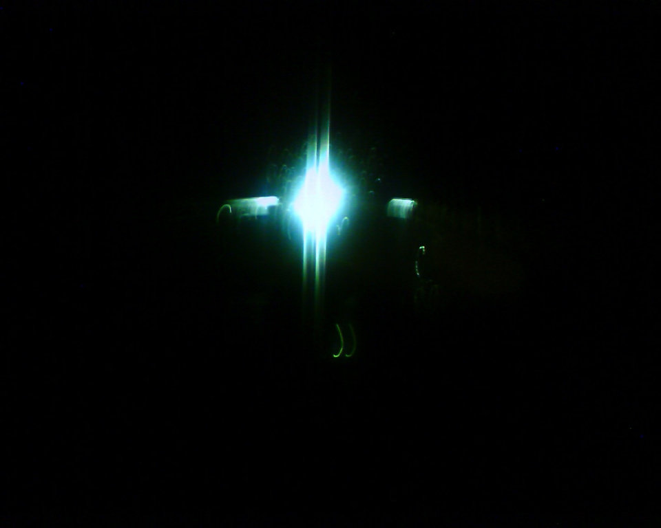 a mysterious ufo in mwc<br/><b>Community Photo By:</b> Kash<br/><b>Submitted By:</b> Tama, Midwest