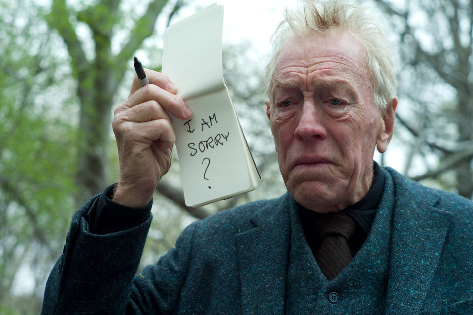 MAX VON SYDOW as The Renter in Warner Bros. Pictures� drama �EXTREMELY LOUD & INCREDIBLY CLOSE,� a Warner Bros. Pictures release.