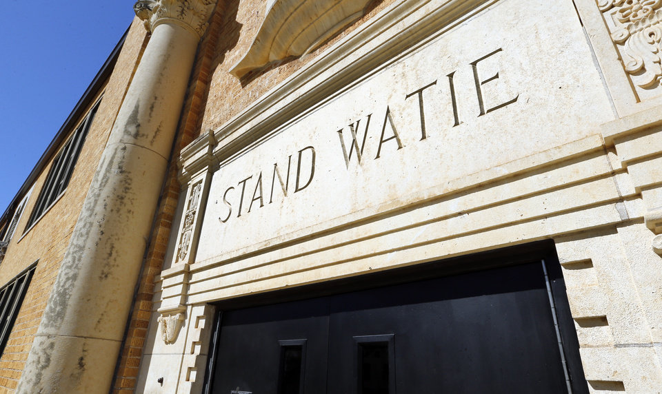 Photo -  Stand Watie Elementary, 3517 S Linn Ave., which serves students in prekindergarten through sixth grade, was established in 1930. [Photo by Steve Sisney, The Oklahoman]