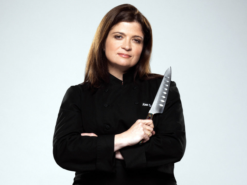 Photo -  The Next Iron Chef, Season 4, Press Gallery Shoot, Alex Guarnaschelli-Chef/Rival, As seen on Food Network, Next Iron Chef season 4