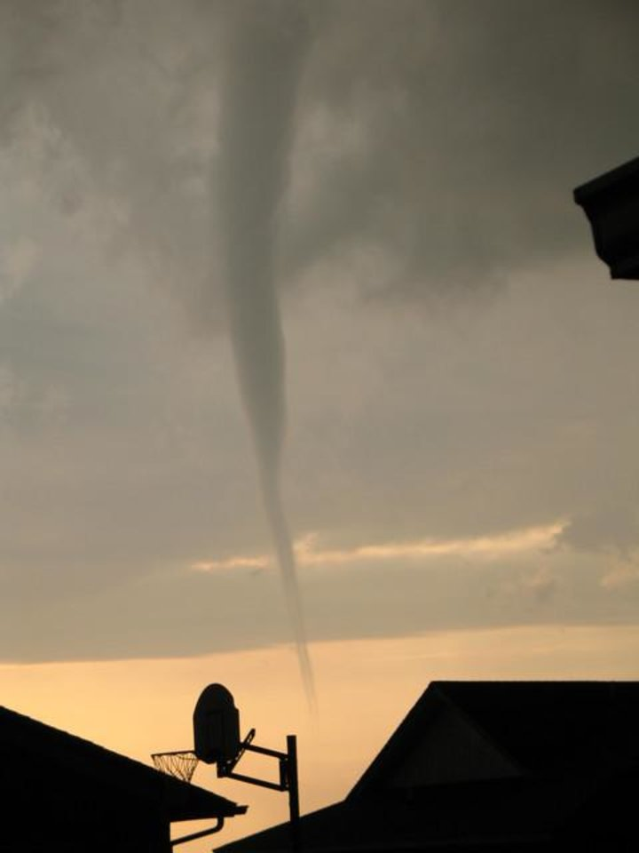 Tornado in El Reno on April 24, 2006. Community Photo By: Rustin Horner Submitted By: Rustin, Bethany