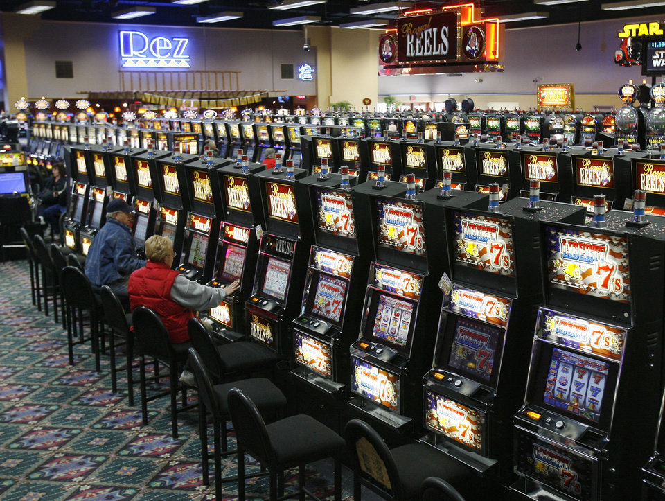 FILE PHOTO: The Cheyenne and Arapaho Tribes want to offer online gaming to international players through the website pokertribes.com. Shown is the tribes' Lucky Star Casino in Concho. <strong>PAUL HELLSTERN - THE OKLAHOMAN</strong>
