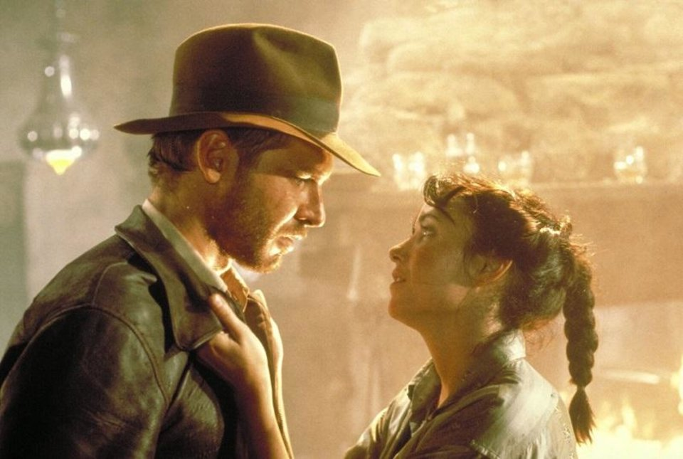 Photo - Harrison Ford and Karen Allen star in the 1981 film