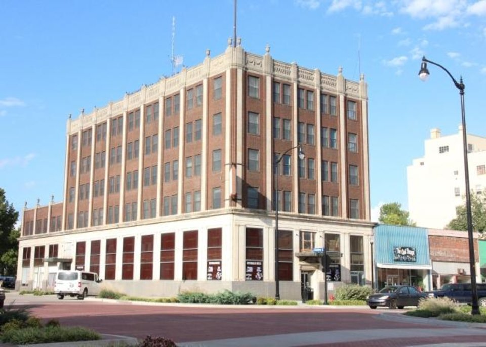 Photo -  State National Bank Building at 2 East Main St. in Shawnee is now on the National Register of Historic Places. [PROVIDED]