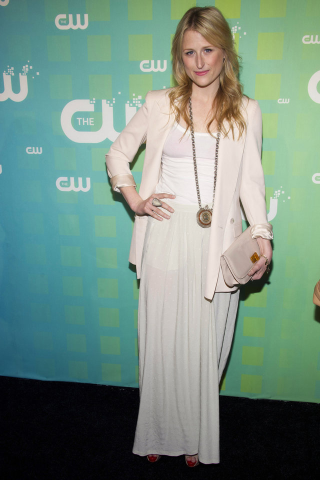 Photo -   Mamie Gummer attends The CW Television Network's Upfront 2012 in New York, Thursday, May 17, 2012. (AP Photo/Charles Sykes)