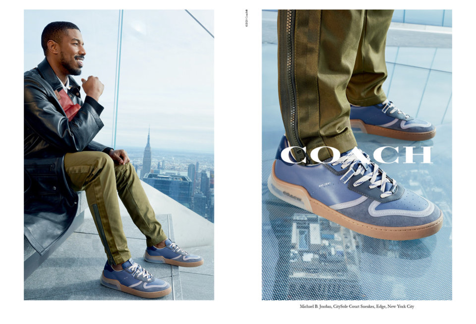 Photo - Michael B. Jordan is the face of the spring campaign for Coach CitySole.