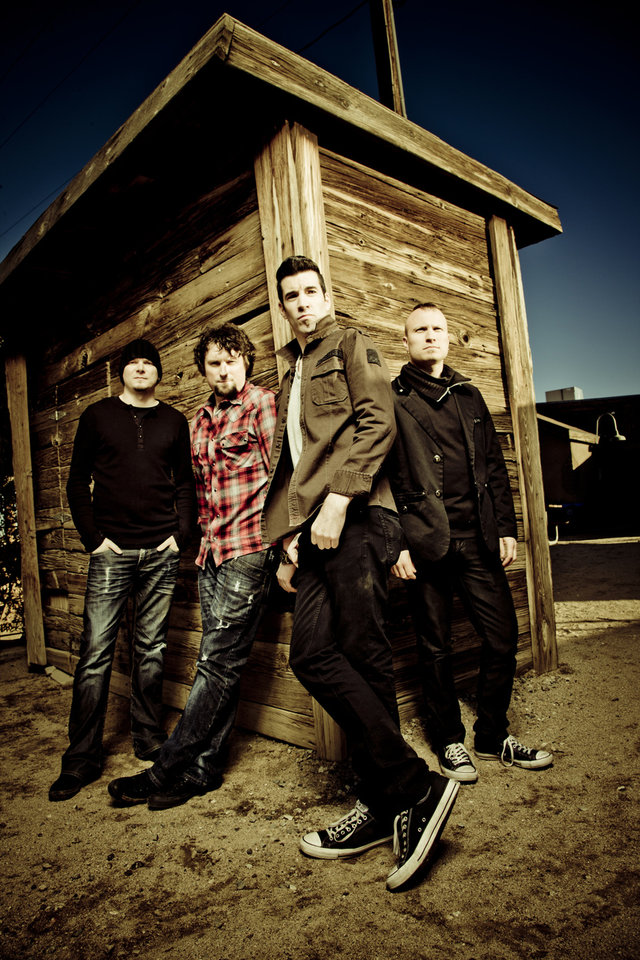 Photo -  Theory of a Deadman returns to Rocklahoma as veterans of 2010 and 2012 shows. PHOTO PROVIDED   Travis Shinn