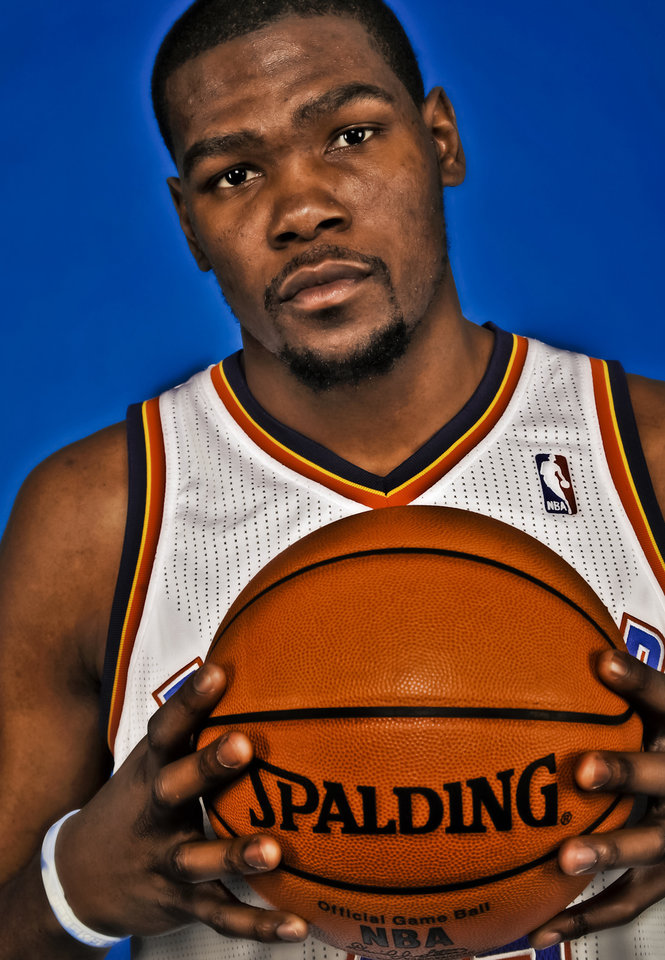 Photo - Kevin Durant is only 23, but the Thunder star has already played a lot of NBA minutes. Photo by Chris Landsberger, The Oklahoman